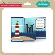 Pop Up Box Card Father Lighthouse