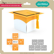 Graduation Hat Explosion Box