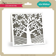 Lace Card 5x5 Tree