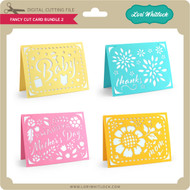 Fancy Cut Card Bundle 2