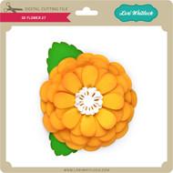 3D Flower 27