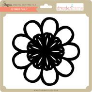 Flower Doily 1