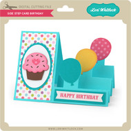 Side Step Card Birthday