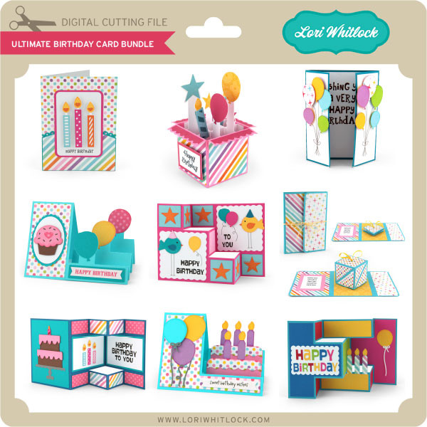 Ultimate Birthday Card Bundle 1612 Image 1