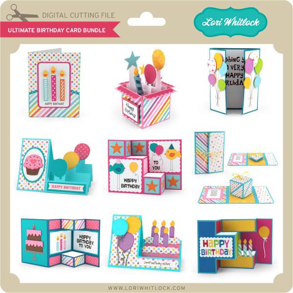 Ultimate Birthday Card Bundle 1612 Image 1
