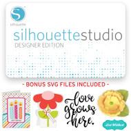 Silhouette Studio Designer Edition Upgrade + Bonus - Email Delivery