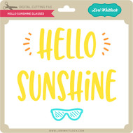 Hello Sunshine Glasses
