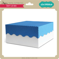 Wavy Lid Box