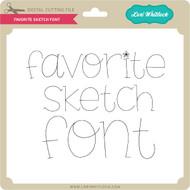 Favorite Sketch Font