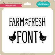 Farm Fresh Font