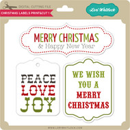 Christmas Labels Print&Cut 1