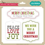 Christmas Labels Print&Cut 1