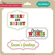 Christmas Labels Print&Cut 2