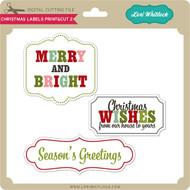 Christmas Labels Print&Cut 2