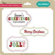 Christmas Labels Print&Cut 3