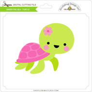Under The Sea - Turtle