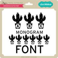 Monogram Cactus Font