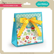 2 on 12x12 Ribbon Tie Box