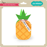 Shaped Card Pineapple