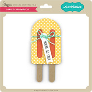 Shaped Card Popsicle