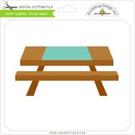 Happy Camper - Picnic Table