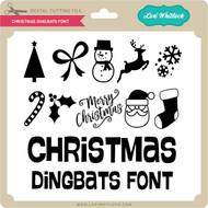 Christmas Dingbats Font