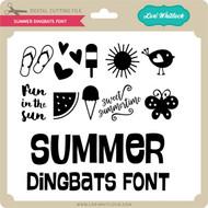 Summer Dingbats Font