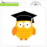 Back To School - Graduation Owl