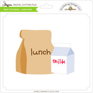 Back To School - Lunch Bag