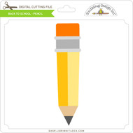 Back To School - Pencil