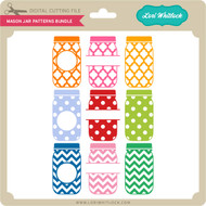 Mason Jar Patterns Bundle