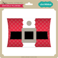 Santa Belly Pillow Box