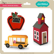 School Favor Box Bundle