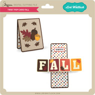 Twist Pop Card Fall