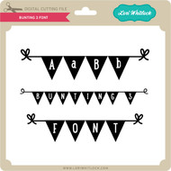Bunting 3 Font