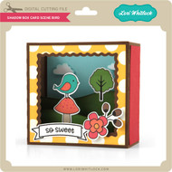 Shadow Box Card Scene Bird