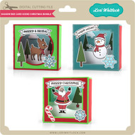 Shadow Box Card Scene Christmas Bundle