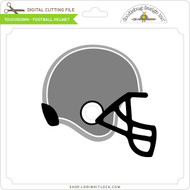 Touchdown - Football Helmet