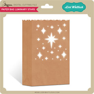 Paper Bag Luminary Stars