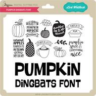 Pumpkin Dingbats Font