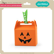Gable Box Jack O Lantern Medium