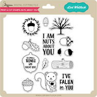 Print & Cut Stamps Nuts About You