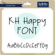 KH Happy Font