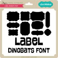 Label Dingbats Font