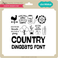 Country Dingbats Font