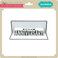 Pop Up Card Happy Anniversary