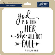 God Is Within Her