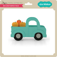 Box Card Pumpkin Truck