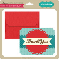 Thank You Card and Envelope 1