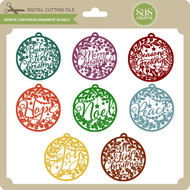 Ornate Christmas Ornament Bundle